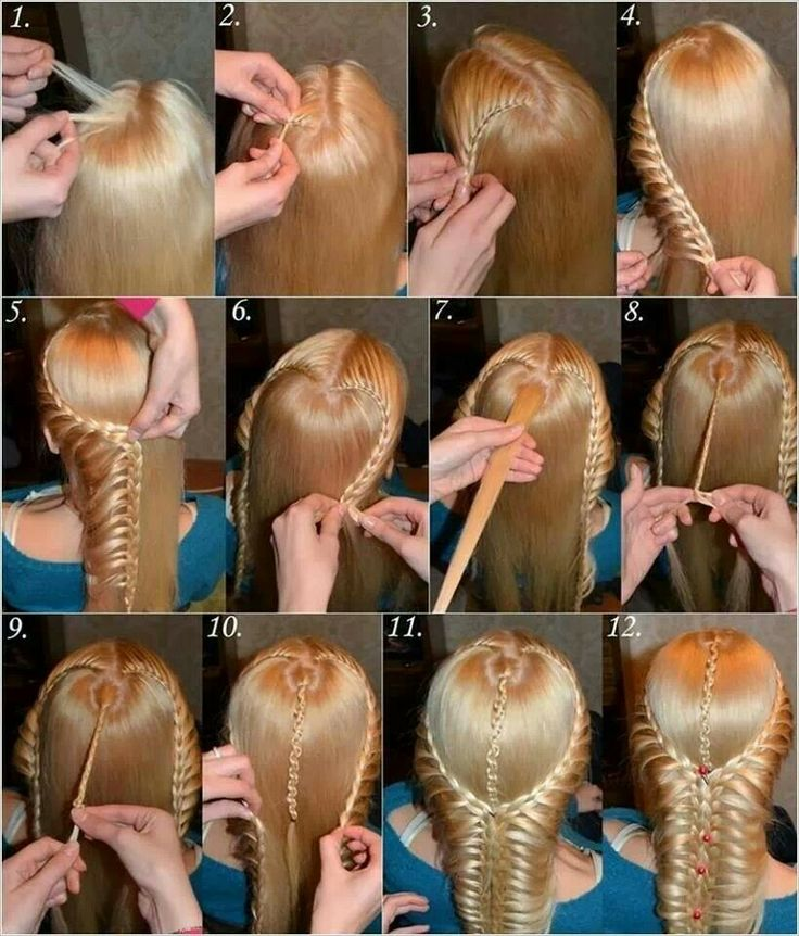 Pretty medieval braid- not that I would ever try this...but crazy what women did in the past..