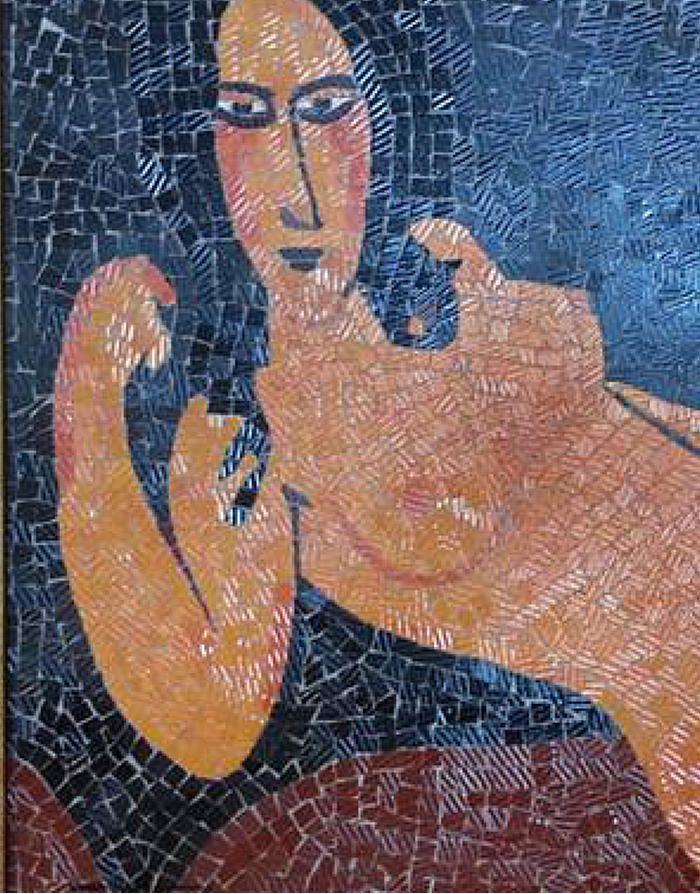 modigliani | arte a mosaico | regali di nozze | lista nozze | opere ...