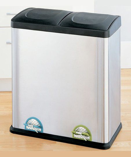 Organize It All Large Step-On Recycling Bin zulily House Ideas