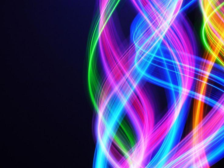 beautiful neon circles 4k - photo #38
