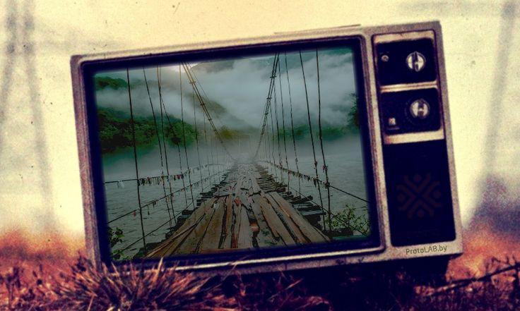 Когда в следующий раз вы будет любоваться красотами стихии, знайте: там уже побывали инженеры  #мост #река #джунгли #стихия #инженернаястудия