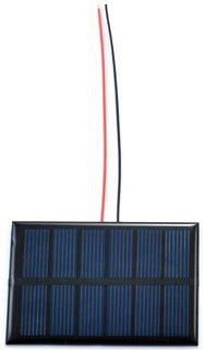 Small Solar Panel 3.0V 200mA with wires