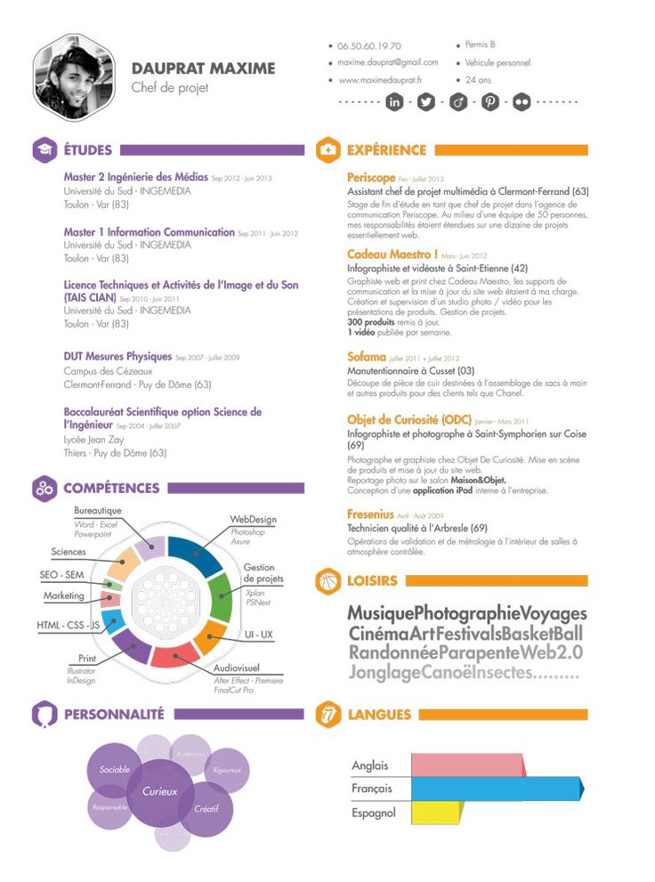 Web Project Manager Resume Work Pinterest Web