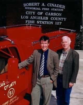 Randolph Mantooth and Kevin Tighe