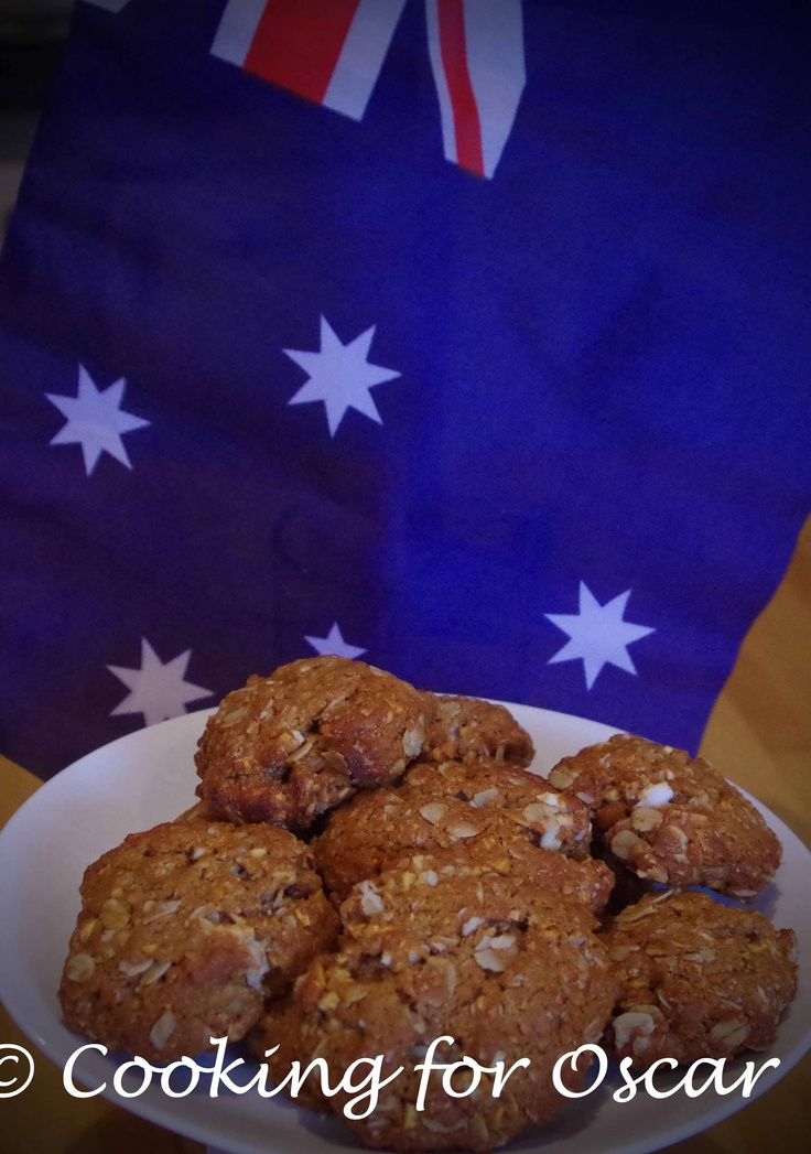 Cooking for Oscar: ANZAC Biscuits