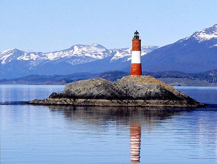 El Faro del Fín del Mundo, The Lighthouse at the End of the World, Isla de Los Estados, Tierra del Fuego, Argentina