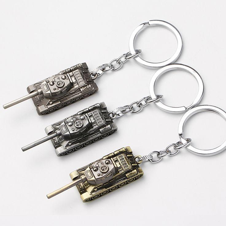 3D World of Tanks Keychains Tank model key chains Key Rings Movie Chaveiro Key Holder car Key Finder Christmas Gift For Men