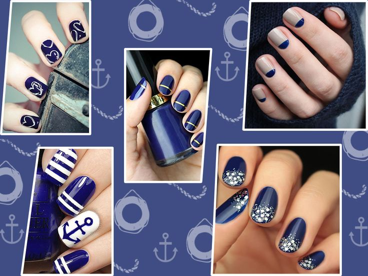 Scegliete il blu navy per una manicure chic:lasciatevi ispirare dalla nostra selezione