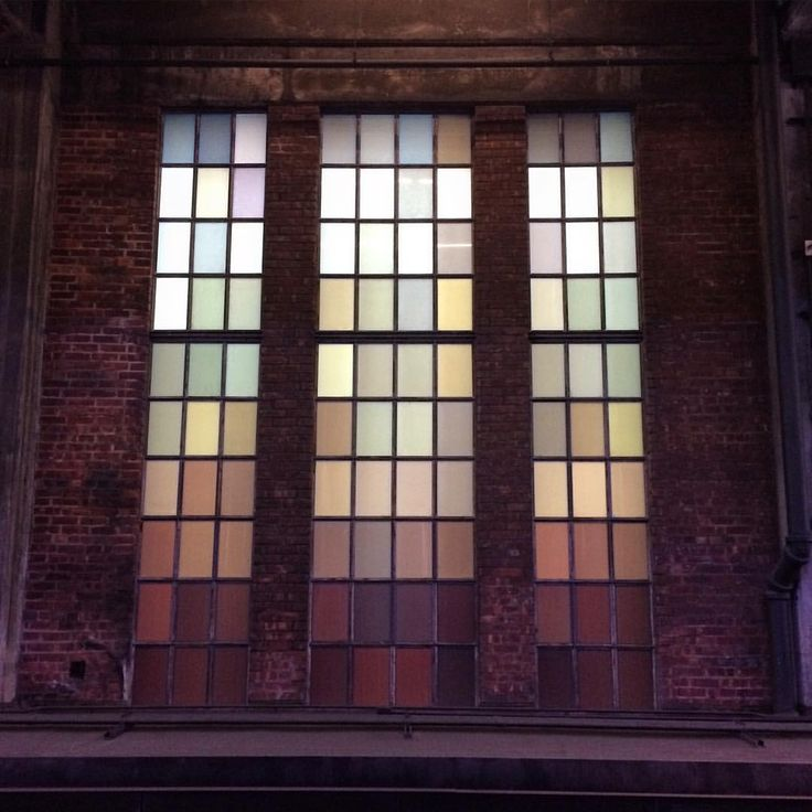 My heart in a window #thehighline #nyc #nyclife #window #rainbow #nofilter #iloveny #industrialwindow #highline #chelsea