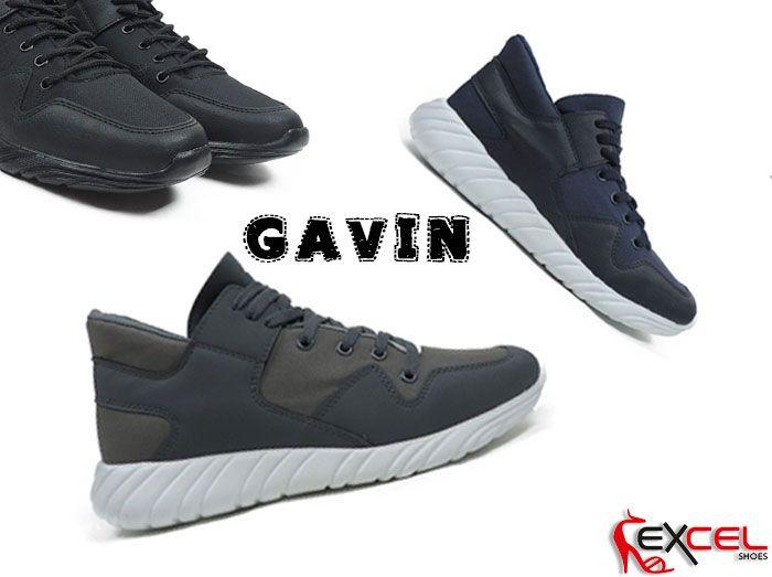 👉 Simply more!  💣 Ανδρικά Αθλητικά παπούτσια 🌟 Gavin - Μαύρο, Γκρι, Μπλε ➡ 39€ ❤ Εγνατία 30 Α & Εγνατία 31 // Θεσ/νίκη ☎ Τηλ. Παραγγελίες 2310 521560 & 2310 521580