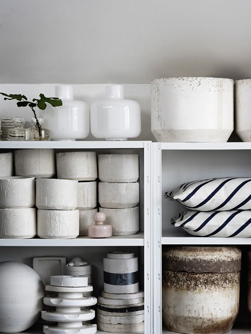 Carina Seth Andersson's vases and textiles for Marimekko