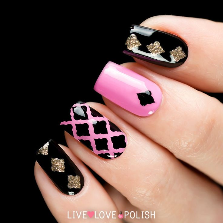 Live Love Polish You're Moroccan My Heart Nail Vinyls