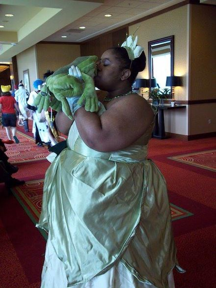 """Plus Size Cosplayer talks about what it's like.  I've had the same thought """"I'd better pick someone that I'm of the same size or I'll get made fun of."""""""