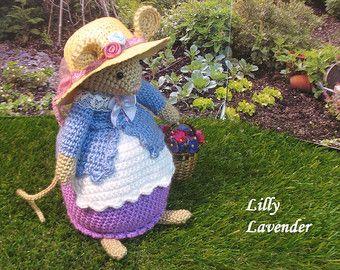 Brambly Hedge Miss Dewberry van dollsandbunnies op Etsy