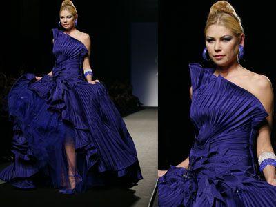 Gli abiti da principessa - Hanno sfilato a Roma gli abiti di alta moda dedicati alla Primavera Estate 2013. Ecco il lusso che verrà, negli abiti per la donna che vuole essere principessa.