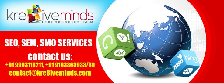 Kre8iveminds technologies Pvt. Ltd. Is one of the best SEO outsource services company in India.