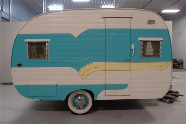 """Vintage Deville Trailer 