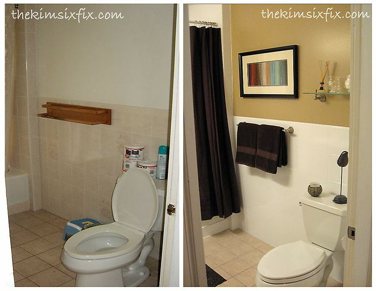Bathroom Makeover (including reglazing ceramic tiles and tub surround) on a budget