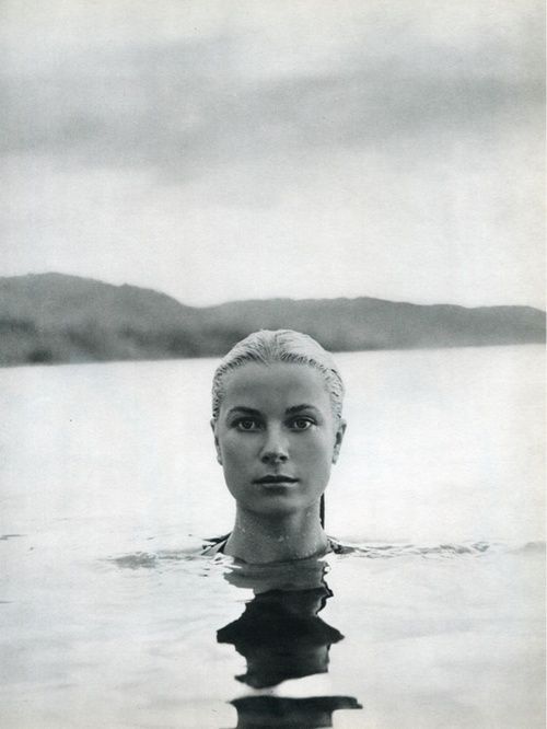 Grace Kelly by Howell Conant in Jamaica, 1955.