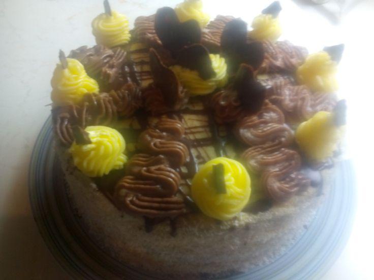 dort čoko vanilkový