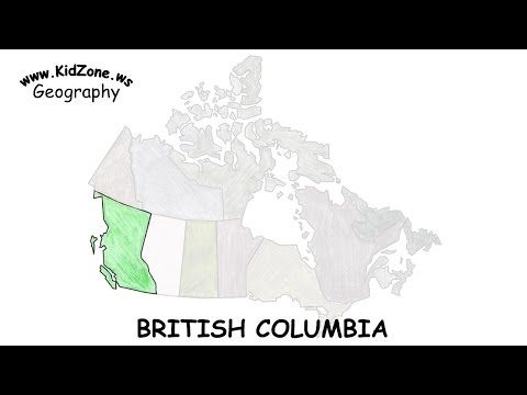 Kidzone Geography: British Columbia - YouTube