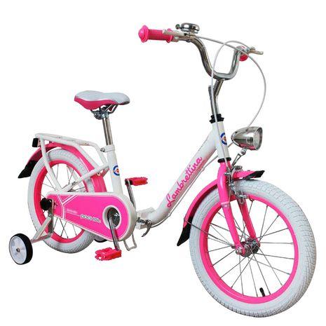 Vehicule pentru copii :: Biciclete si accesorii :: Biciclete :: Bicicleta copii pliabila Lambrettina pink 16 ATK Bikes