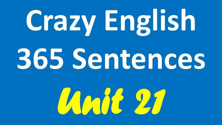 Crazy English 365 Sentences | Learn English By Listening - Unit 21 (End)