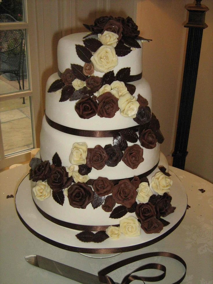 94 Best Images About Cakes Of Brown Chocolate On Pinterest