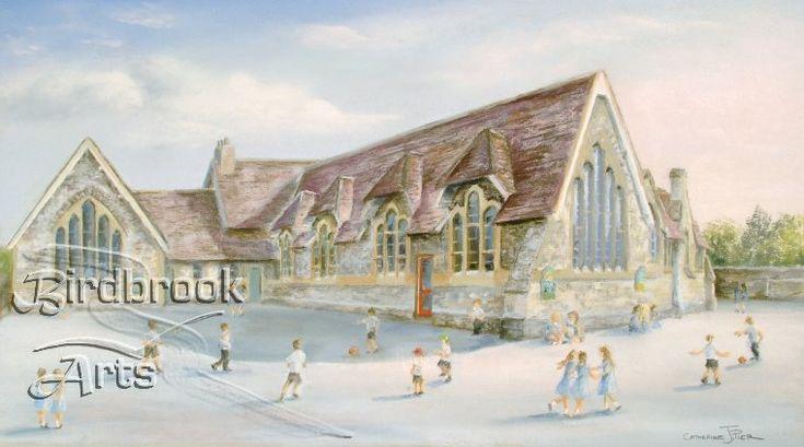 St Marys School, Purton by well-known artist Catherine Pier