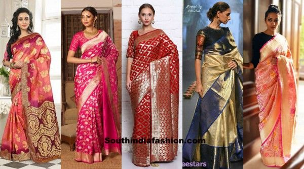 6 Traditional Sarees for this Festive Season photo