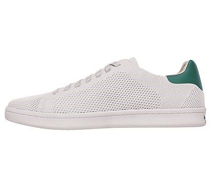 Mark Nason Skechers Men's Bryson Memory Foam Sneakers (White/Green)