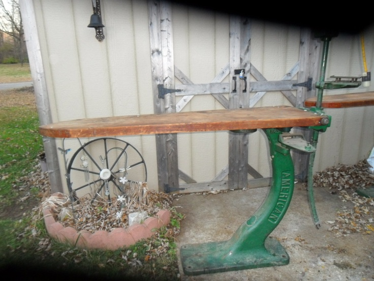 1930's  Industrial Ironing Board  ( Historic american made). $1,650.00, via Etsy.