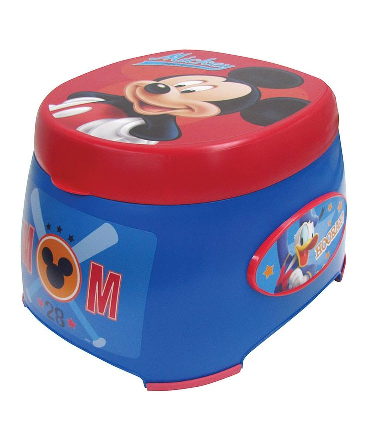 Take a look at this Mickey Mouse Mickey Mouse 3-in-1 Potty Trainer today!