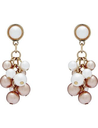 Buy Peony Pearl Earrings from David Jones at Westfield or buy online from the David Jones website.