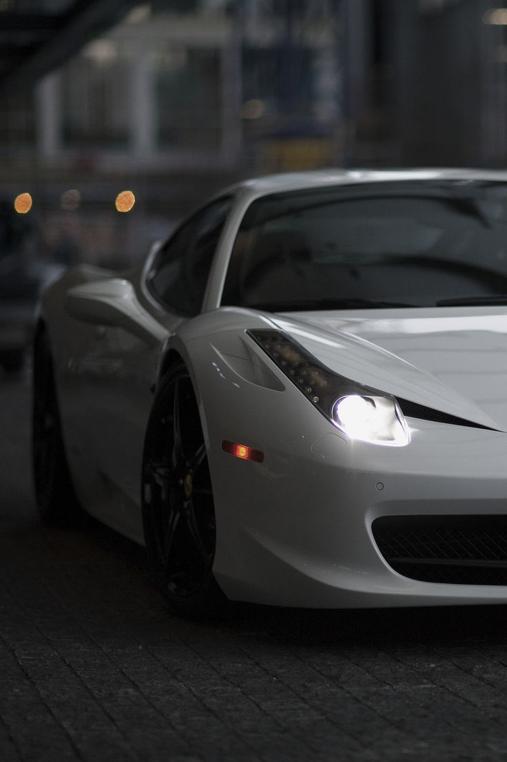 Iphone 6 wallpaper tumblr cars - Ferrari Exotic Car In White