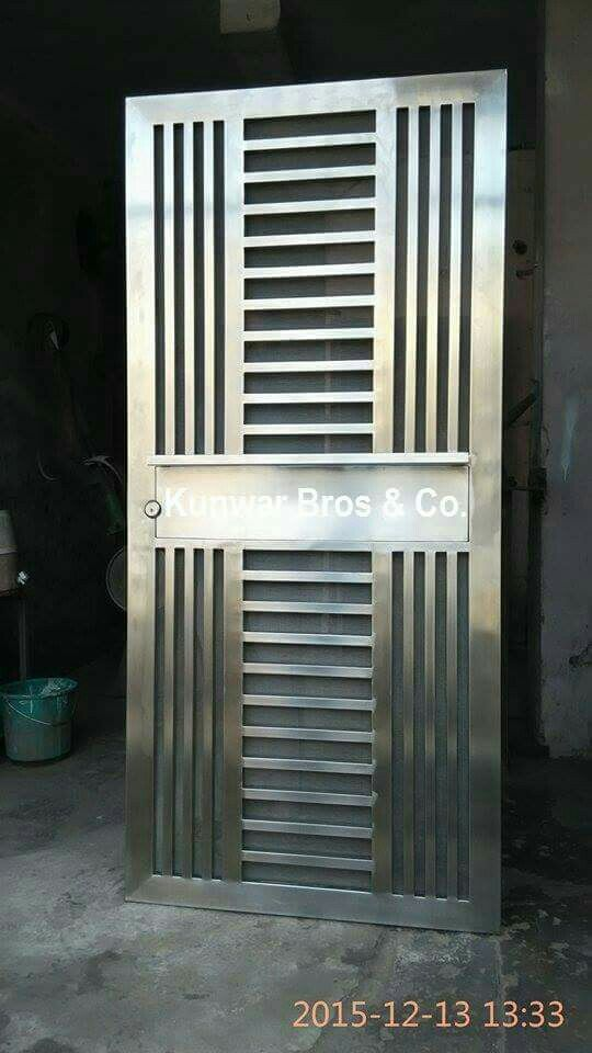Peachy Best 25 Stainless Steel Doors Ideas On Pinterest Stainless Largest Home Design Picture Inspirations Pitcheantrous