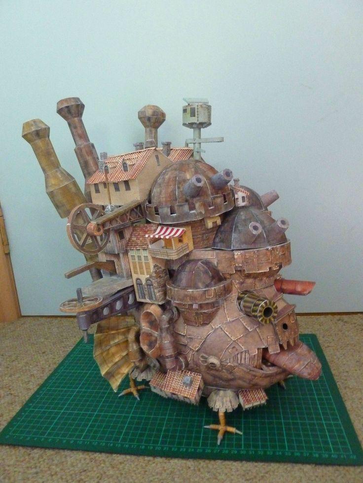 Howl's Moving Castle (credit to u/battle_royale from reddit)