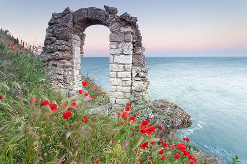 A tenger Bulgária partjai mentén