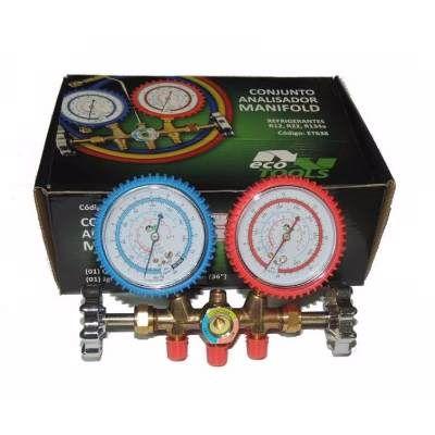 Manifold  Refrigeraçao Ar Condicionado R12/r22/r134a/404 - R$ 90,00