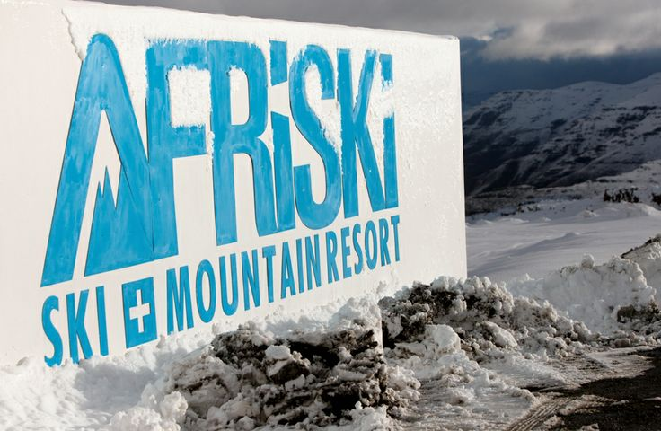 The only ski destination in Lesotho with the highest restaurant in Africa #goneskiing