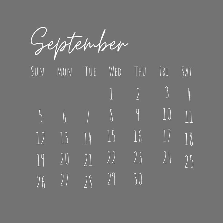 Simple aesthetic grey calendar 2021   Simple aesthetic ...
