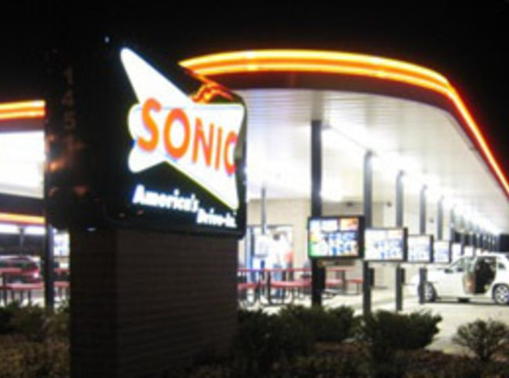 Sonic Drive-In Peanut Butter Shake and Peanut Butter Fudge Shake