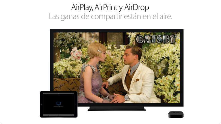 AirPlay #PorqueunaMac #Apple #iPad