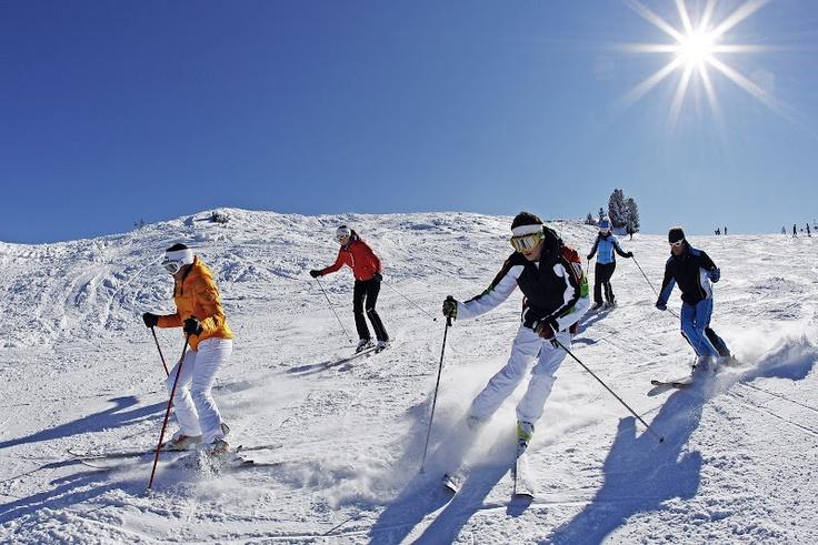 una bella sciata all'Alpe Cermis.  www.visitfiemme.it
