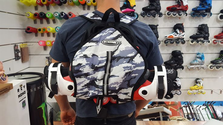 Review Mochila Voltage Skate Camuflaje