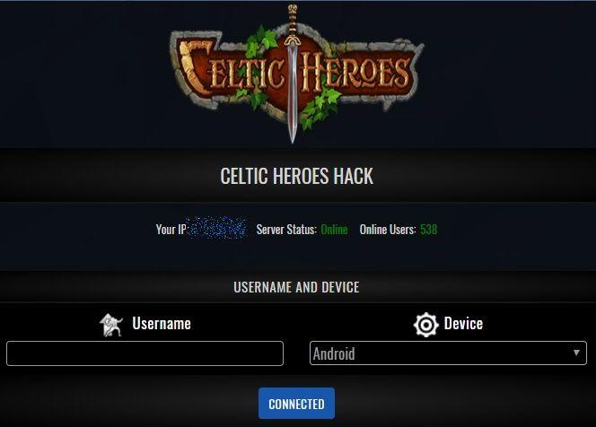 celtic heroes apk