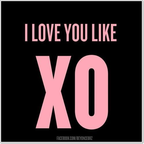 Beyoncé #lyrics Love you like xo