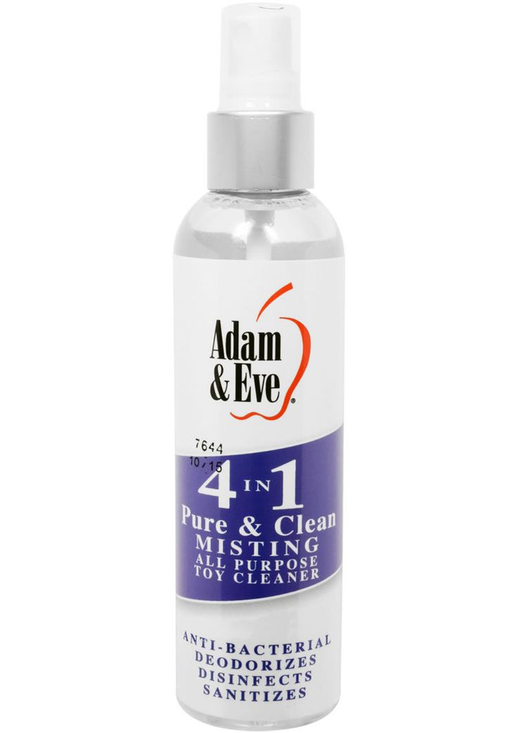 Buy Adam And Eve 4 In 1 Pure And Clean Misting All Purpose Toy Cleaner 4 Ounce online cheap. SALE! $9.49
