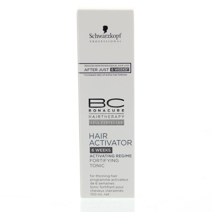 Schwarzkopf BonaCure Hair Activator Fortifying Tonic Lotion Haaruitval 100ml  Description: BonaCure Hair Activator Fortifying Tonic activeer de haarwortels! Combineer deze Hair Activator Technologie van BonaCure die al na 6 weken de haaruitval vermindert! Verhoogt de haardichtheid na regelmatig gebruik. De Pro-vitamine B5 versterkt de haarvezel en vermindert haaruitval door de haarwortels te stimuleren. Gebruiksaanwijzing: Na 6 weken gebruik van het Hair Activator serum overstappen op de…
