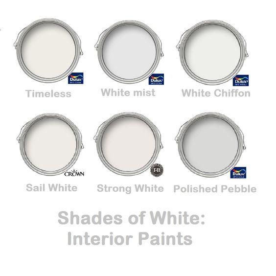 Dulux White Mist And Polished Pebble On Pinterest